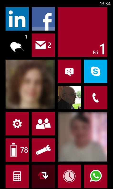 tile for phone david s windows phone 8 live tile arrangement and app list