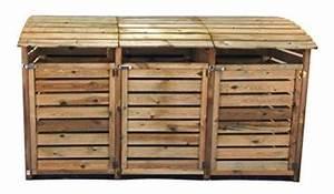 Tonne Aus Holz : m lltonnenbox aus holz m lltonnenverkleidung f r 3 tonnen bis 240 liter ~ Watch28wear.com Haus und Dekorationen