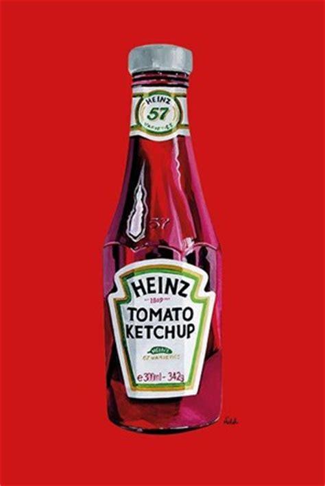 Heinz Tomato Ketchup, Orla Walsh Poster - PopArtUK
