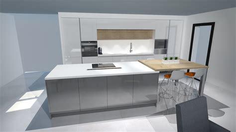 cuisine blanche en bois meilleures cuisine blanche et bois clair image 15789