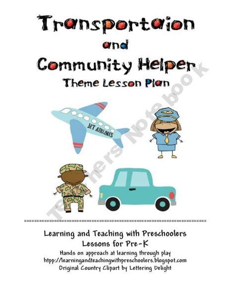 19 best transportation travel lesson plans images on 186 | 9e4c5cd232c5505146b3bd6eb6115fa1 transportation unit community helpers