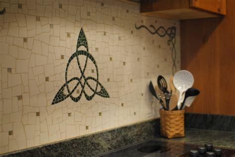Celtic Backsplash   Tile   richmond   by Phoenix Handcraft