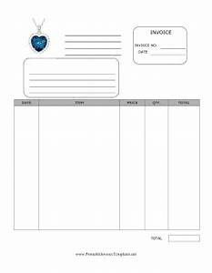 jewelry invoice template With jewellery invoice format