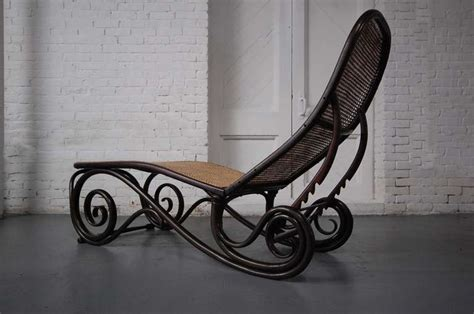 chaise n 14 thonet thonet chaise lounge at 1stdibs