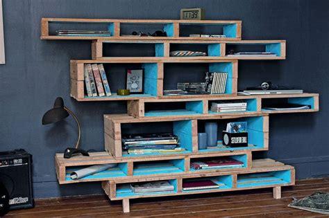 fabriquer canapé d angle des rayonnages design bricolage design et interieur