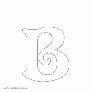 5 best images of fancy alphabet letter stencil fancy With scroll letter stencils