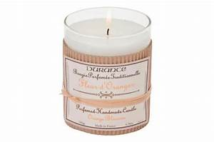 bougie traditionnelle durance parfum fleur d39oranger swann With chambre bébé design avec parfum fleur d oranger