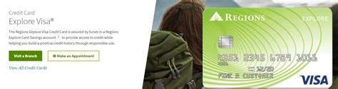 Secured credit cards require that you fund a refundable deposit (normally between $200 and $5,000) and that deposit becomes your credit limit. Regions Bank Launches 'Explore' Secured Visa Card - Our ...