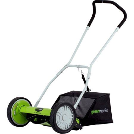 greenworks  blade  reel mower walmartcom