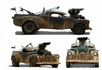 Fury Road Mad Max Cars Apocalyptic Vehicle