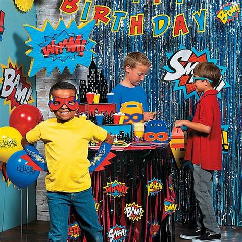 superhero party supplies superhero birthday party games