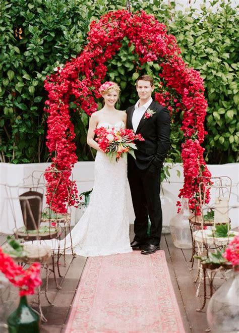 deep red wedding ideas  fallwinter weddings deer