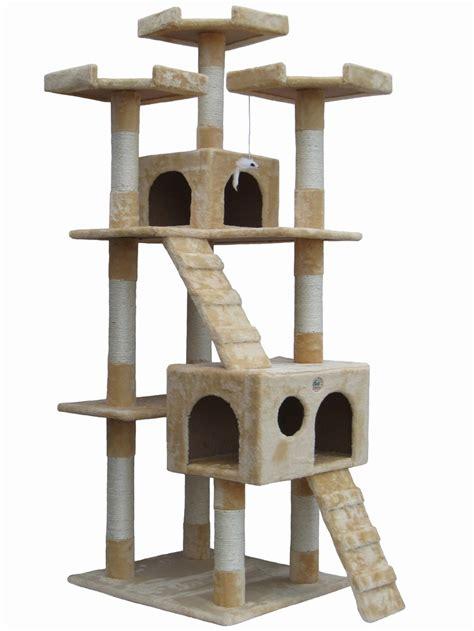 cat beds walmart canada go pet 72 quot cat tree condo house cat tree condo