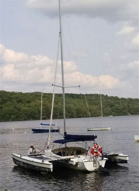 Trimaran Trailer Sailer For Sale by Small Trimarans