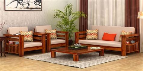 sofa set wood wooden sofa sets buy solid wood sofa set upto 60 woodenstreet