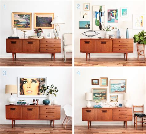 How To Decorate A Credenza home decoration with emily henderson modern home decor