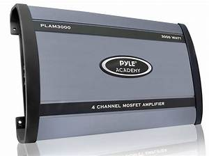 Pyle - Plam3000 - Marine And Waterproof - Vehicle Amplifiers - On The Road