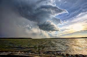 Water Storm Cloud Background