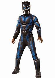 Marvel Black Panther Movie Boys Deluxe Black …
