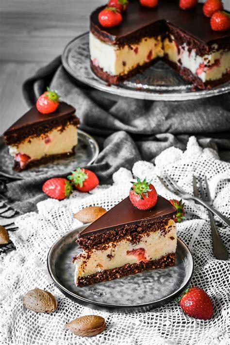 Schoko Erdbeer Torte - Ahalni Sweet Home