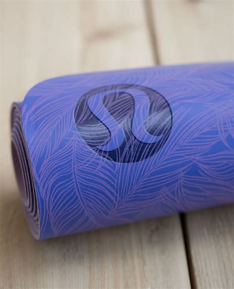 how to clean the mat lululemon lululemon the reversible mat 3mm sketchy palm iris