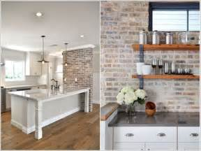 wall for kitchen ideas 10 cool kitchen accent wall ideas for your home
