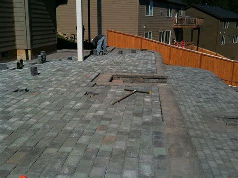 paver patio installation brick pavers beaverton portland