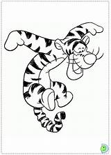 Tigger Coloring Dinokids Close Popular Colouring sketch template
