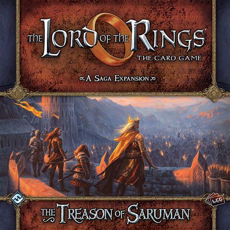 Lotr Lcg Deck Building Tool by Lord Of The Rings Lcg Treason Of Saruma 9781633440296