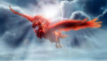 Horse Flying Fly Kalki Unicorn Scriptures Pegasus