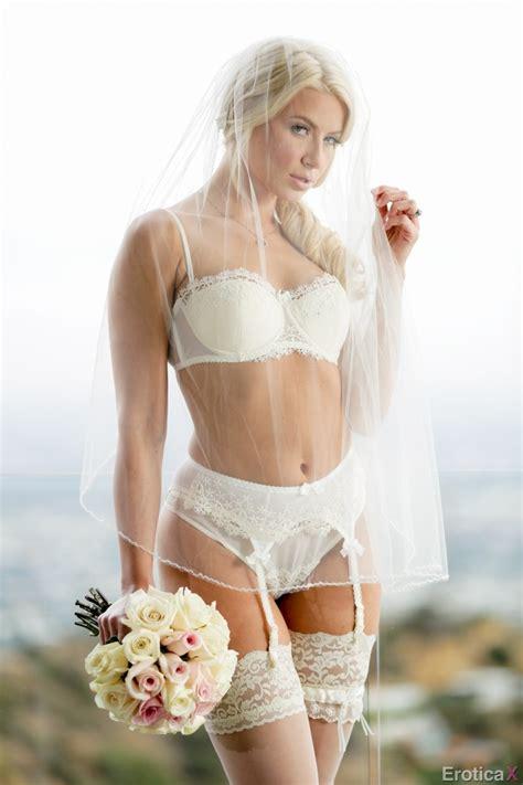 Hot Blonde Bride With A Big Ass