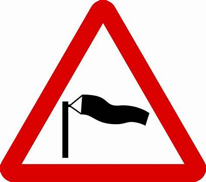 Signs Sign Road Wind Cross Warning Mauritius