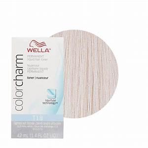 Wella Color Charm Permament Liquid Hair Dye Toner 42ml