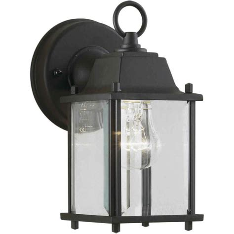 filament design burton 1 light outdoor black wall lantern