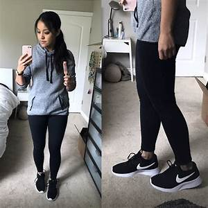 REVIEWS Faux Leather Jackets Under $50 Striped Tee Nike Tanjuns - Putting Me Together