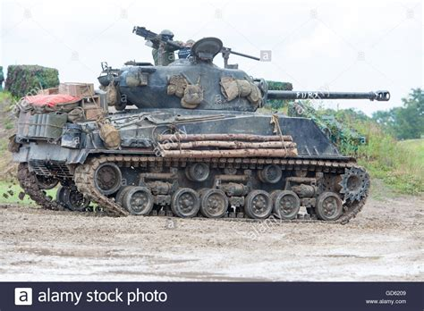 Fury Sherman M4 A2 E8 Tank As Featured In The Movie Fury