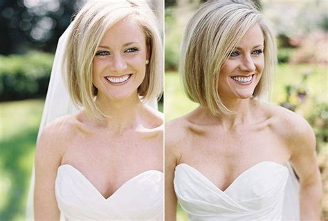 Bob Hairstyle With Veil ...