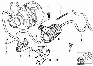 Original Parts For E46 330d M57 Touring    Engine   Vacum Control Engine Turbo Charger