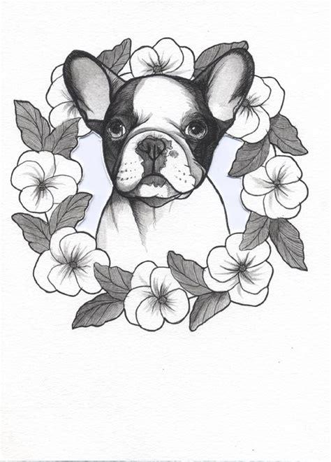 french bulldog tattoo ideas  pinterest