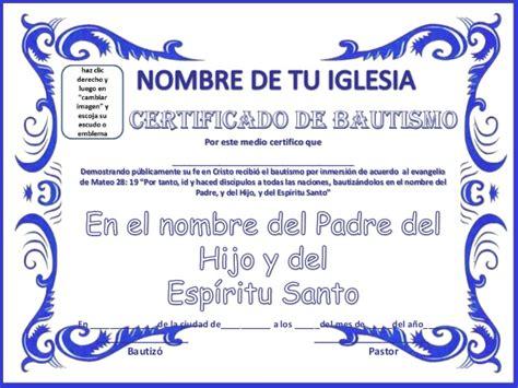 certificado de bautismo cristiano certificado de bautismo cristiano related keywords