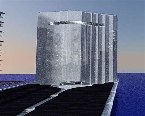Solar City Tower 2016 Olympics Rio Brasil Waterfall