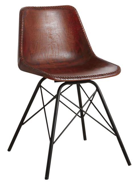 chaise en métal les 25 meilleures idées de la catégorie chaises en cuir