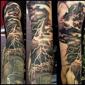 20, Lightning, Tattoos