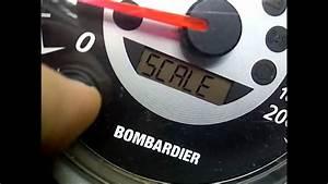 Ski Doo Speedometer Problem   Fix
