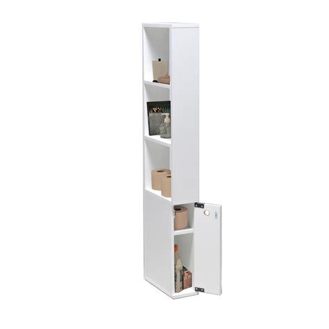caisson bureau bois meuble de toilette en bois 1 porte 3 étagères alaska port