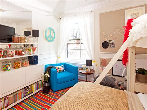 Colorful Kids' Bedroom With Candy Store Theme Hgtv