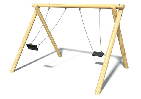 Play Swing by Timber Swing With Flat Seats Timber Swings Swings