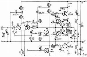 audio amplifier 100w with bdx66b bdx67b With 100w power amp