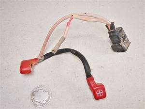 85 Atc250es Big Red Starter Solenoid Positive Battery Wire