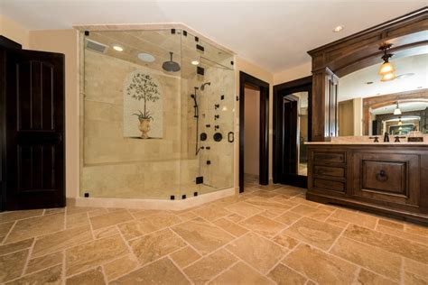 tuscan style bathroom ideas tuscan style master bathroom traditional bathroom seattle by wren willow inc